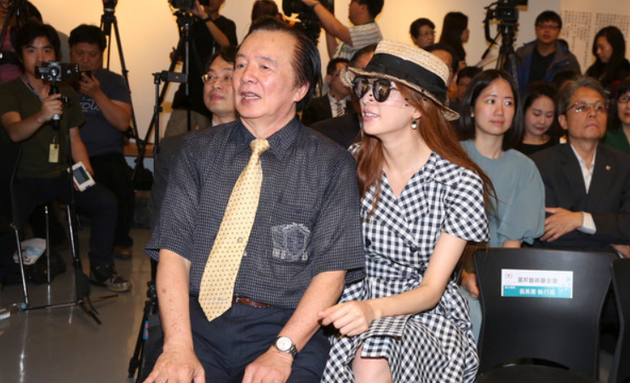 林志玲与爸爸
