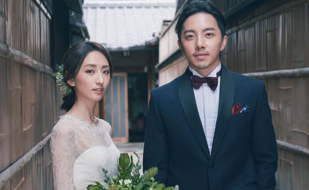 谢坤达与柯佳燕15日在台北举办婚宴