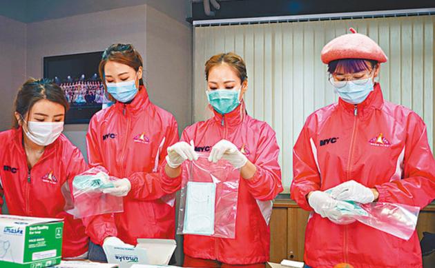 亚姐化身工厂女工