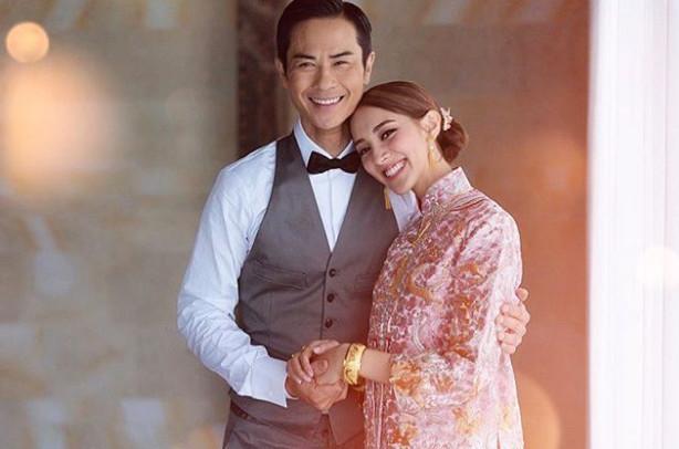 郑嘉颖与陈凯琳上年八月于巴厘岛结婚