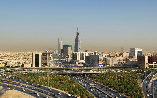 沙特阿拉伯首都利雅得城市中心
