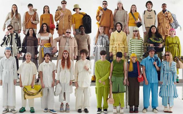 服装品牌广告照