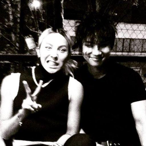 BigBang权志龙为姜大声庆生 晒合照显示了暖暖友情