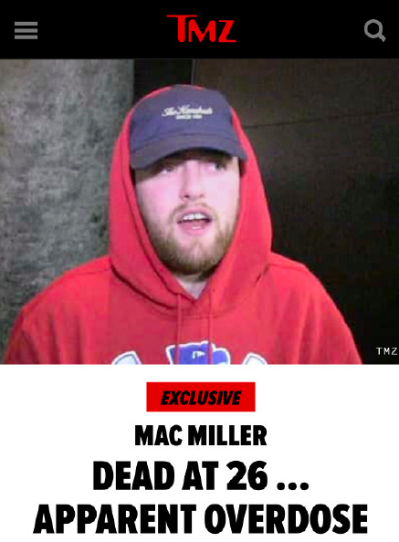Mac Miller去世