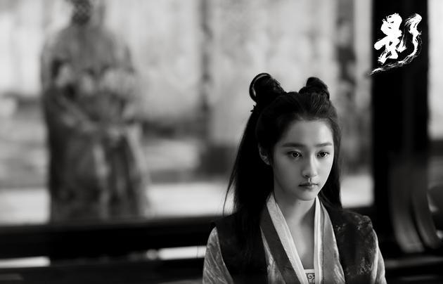 """关晓彤在片中饰演长公主""""青萍"""""""