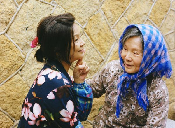 《蕃薯浇米》的两位女主角杨贵媚(左)和归亚蕾