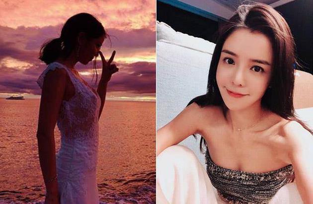 李毓芬度假晒海边美照 网友:来拍婚纱照吗?