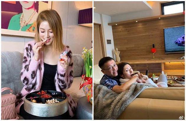 演艺圈贵妇徐子淇、李嘉欣PO照分享过年生活