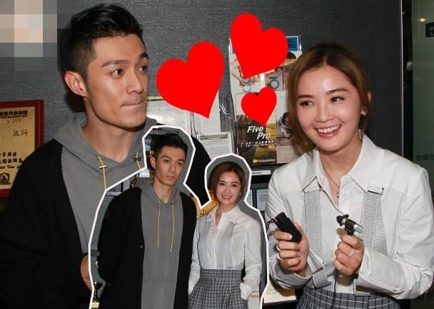 蔡卓妍与周柏豪