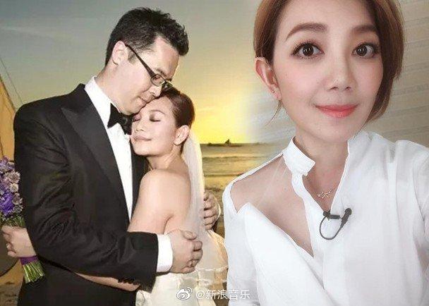 梁静茹宣布与老公离婚