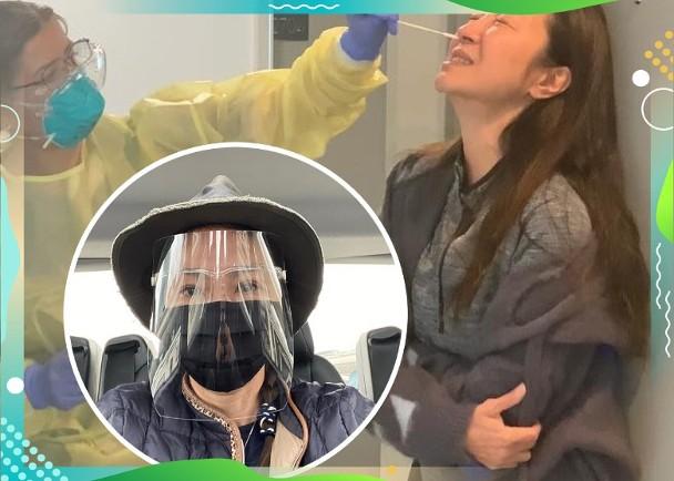 杨紫琼飞澳洲开工 忍痛抽鼻组织做新冠肺炎检测