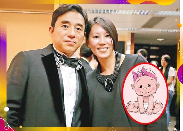 57岁吕方升级当爸 太太顺产诞下女婴