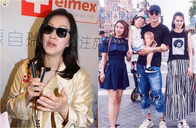 被问当年支持洪欣交往张丹峰,陈慧珊表示不记得了。