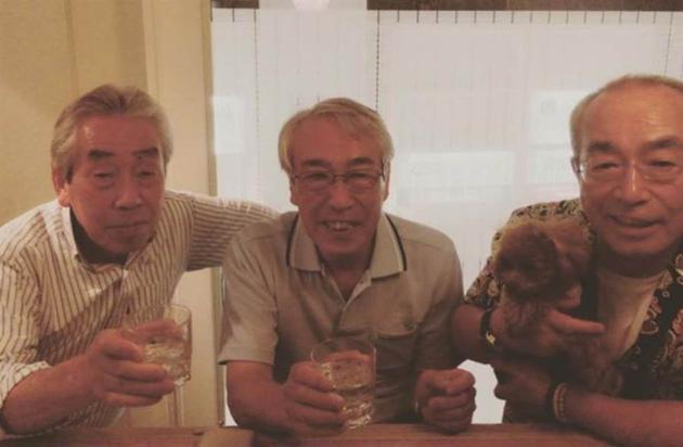 志村健和两个哥哥