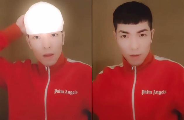 萧敬腾公开清爽新发型 禾浩辰夸帅爆网友赞超减龄