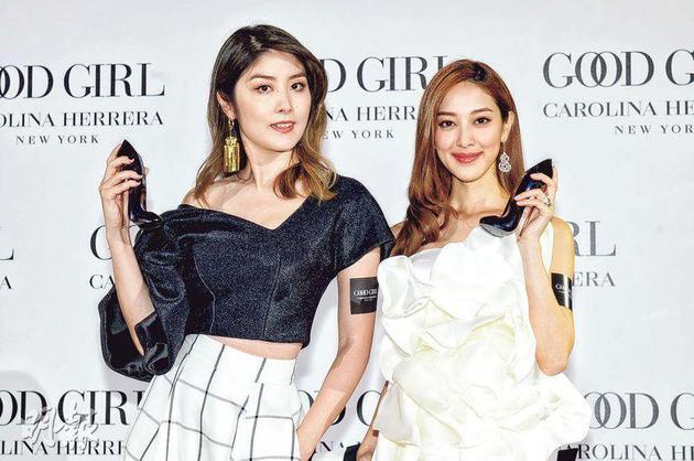 陈慧琳(左)有异国传授做妈妈的心得给陈凯琳呢?