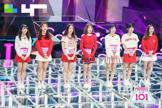 101女团排名_xlzy/文   4月21日,女团青春成长节目《创造101》首播.