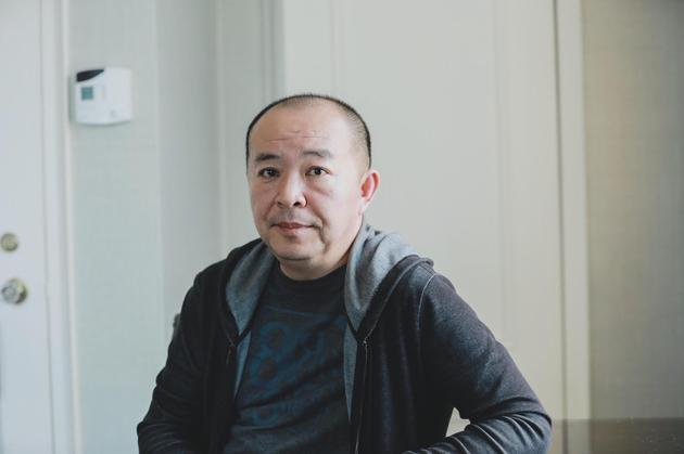 导演刘杰在多伦多电影节