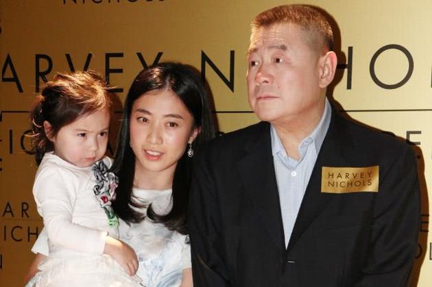 刘銮雄和甘比一家