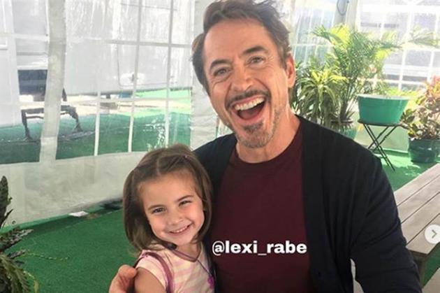 扮演钢铁侠女儿的7岁童星Lexi Rabe遭霸凌