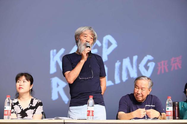 田壮壮现身北京电影学院2018级导演系进修班毕业典礼