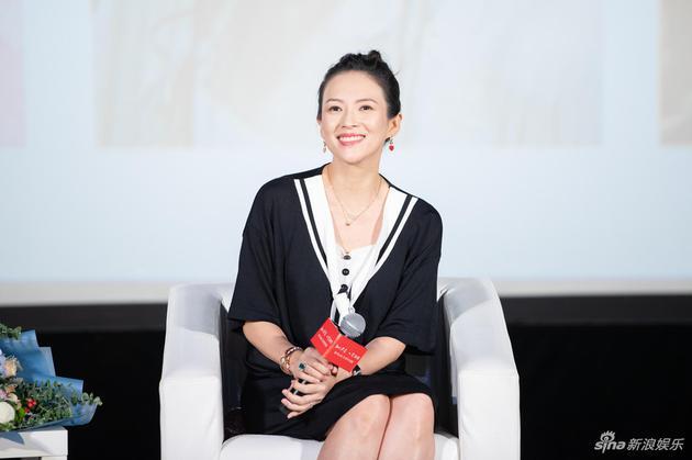 """章子怡出席""""章子怡从影20周年""""作品展开幕式"""
