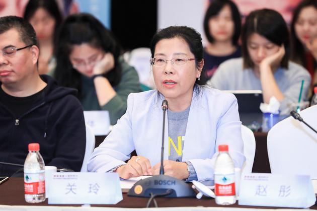 中国传媒大学戏剧影视学院院长关玲
