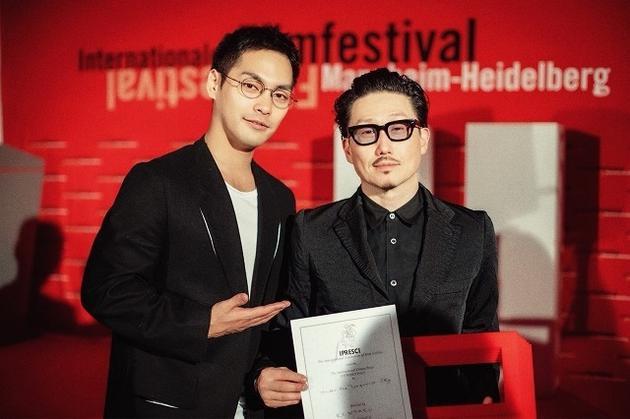 柳乐优弥与KENTARO导演参加第68届曼海姆海德堡国际电影节