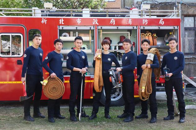 陈庭妮添重注释消防队员