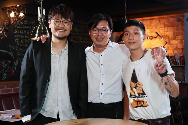 主办人郑伟柏与阿福、谢博安相符影