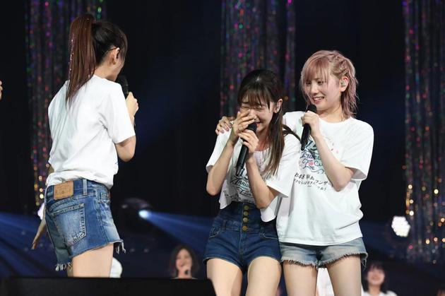 AKB48柏木由纪因发表新曲流泪
