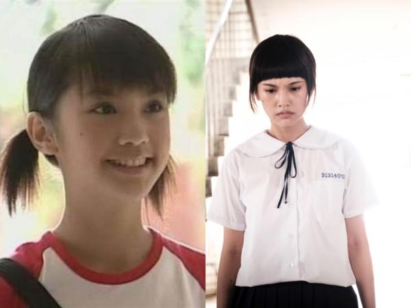 杨丞琳齐刘海造型,自己觉得跟17年前的自己很像