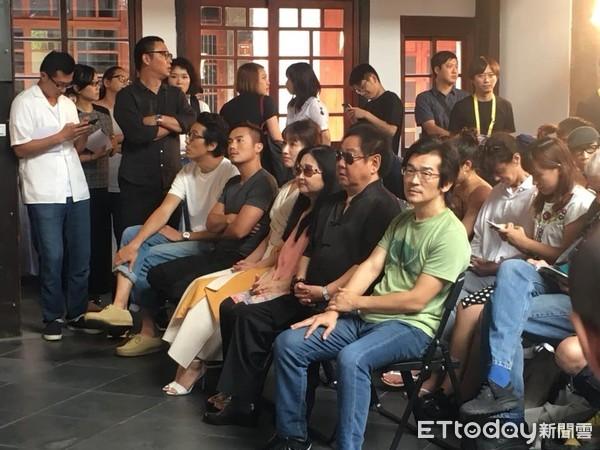 田中千绘范逸臣一起出席台北电影节活动