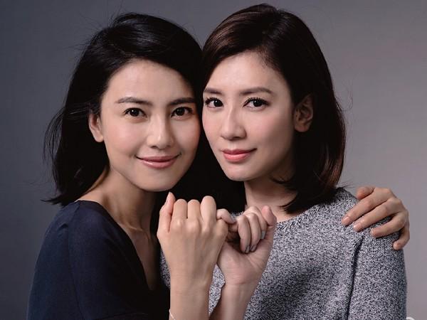 高圓圓和賈靜雯17年閨蜜情