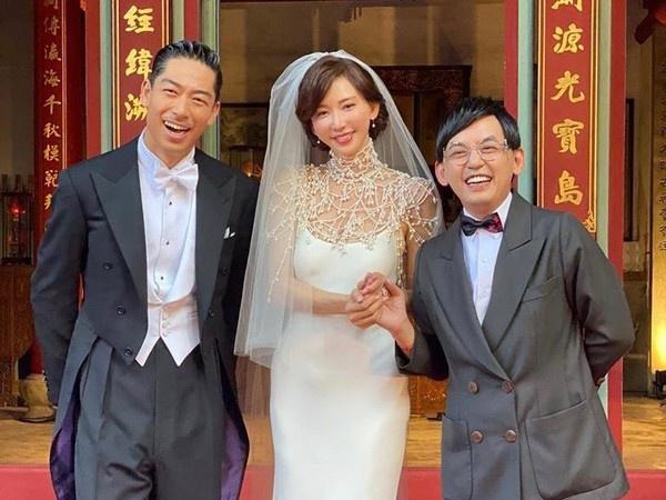 黄子佼见习AKIRA和林志玲婚宴