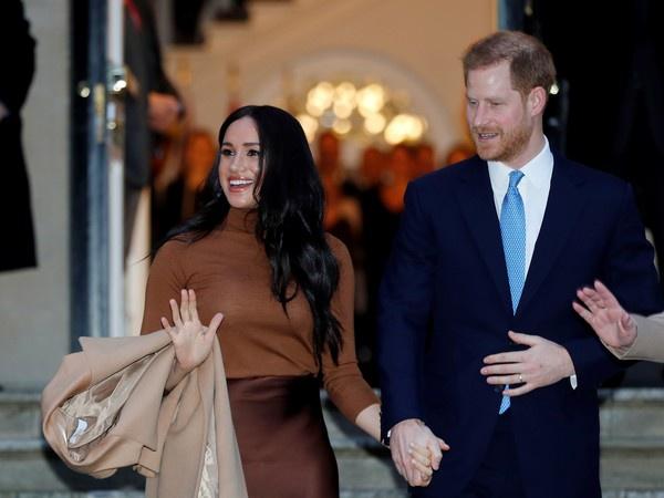 哈里王子与妻子梅根