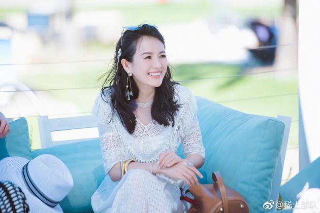 章子怡自曝为汪峰拍MV 怀孕五个多