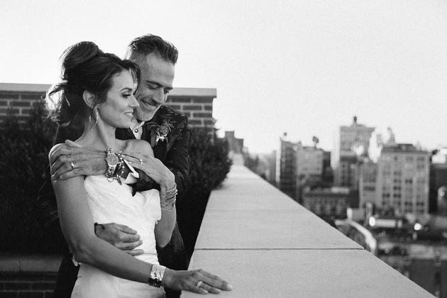 摩根和伯顿结婚