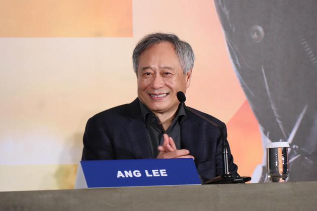 李安返回台北宣传