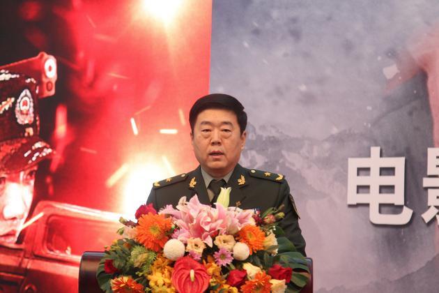 中国人民武装警察部队副参谋长李维杰少将讲话