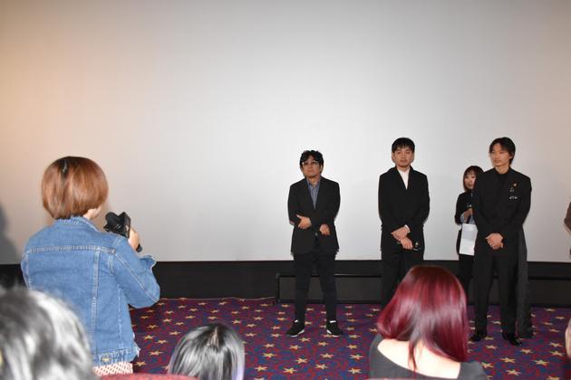 绫野刚等出席海南岛国际电影节