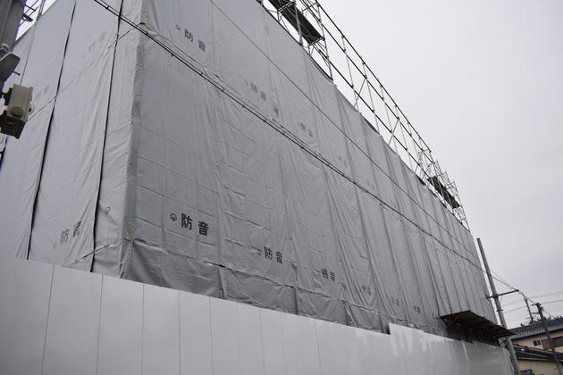 京都动画第一工作室拆除作业现场