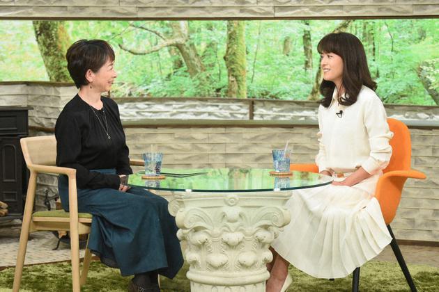 时隔23年复出的女星后藤久美子做客《佐和子的早晨》节现在