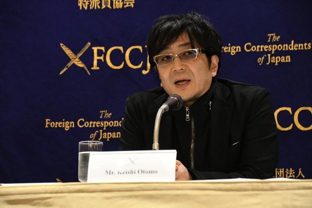 2月4日大友启史出席新片《影里》宣传运动