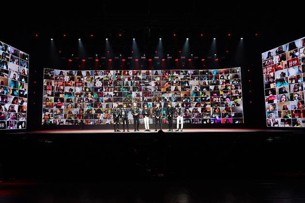 SuperM全球线上专用演唱会公开 开启了演唱会的新未来