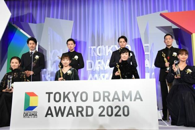 吉田羊大泉洋参加颁奖礼 希望作品给日本带来力量