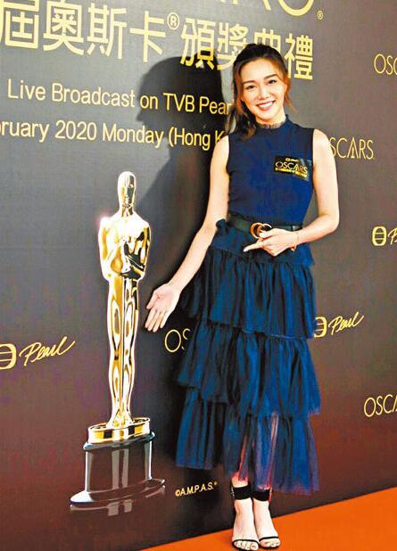 汤洛雯笑称很多好莱坞导演找她