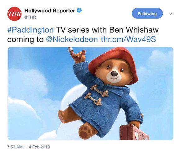 《帕丁顿熊》将出动画剧集