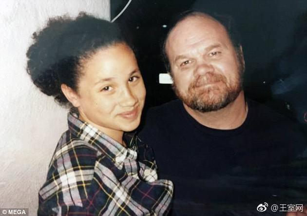 梅格汉与父亲托马斯