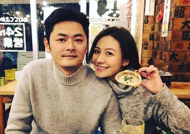江若琳和老公萧润邦(资料图)